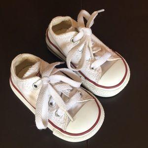 Converse White Infant Chuck Taylors